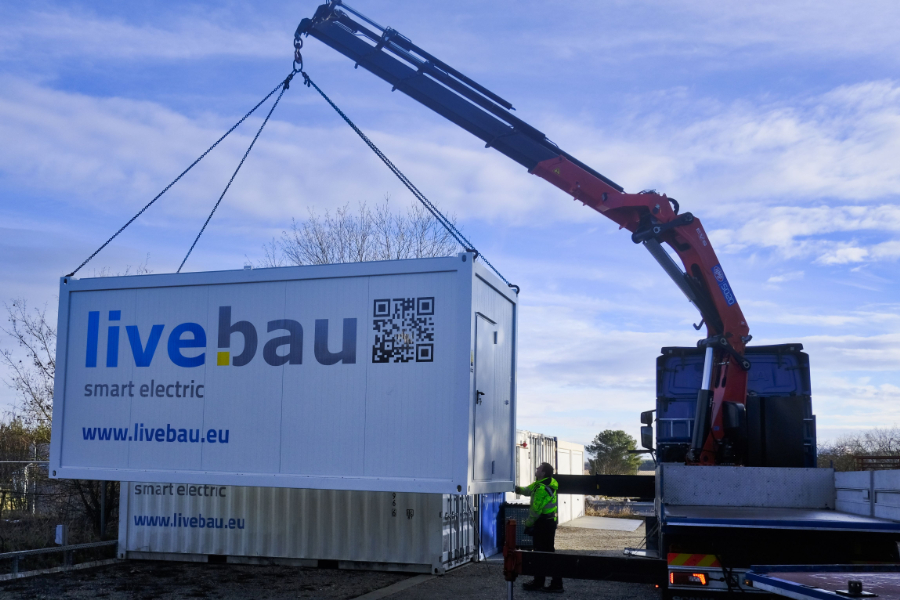 livebau moves to its new location at the Helmholtz Zentrum München
