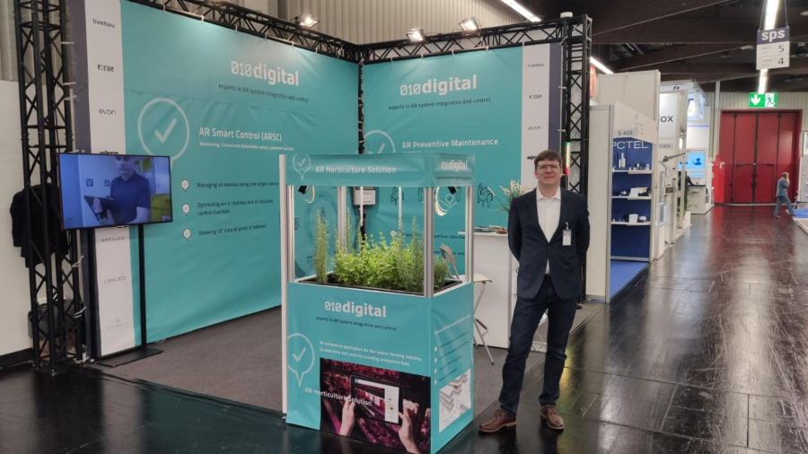 livebau and 010digital present AR solution at SPS 2019