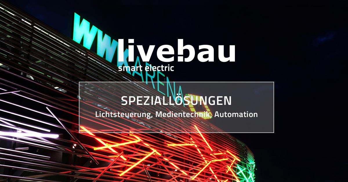 Lichttechnik Datentechnik Automation Livebau