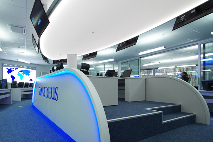 Project Amadeus operation room in Erding | Media technology