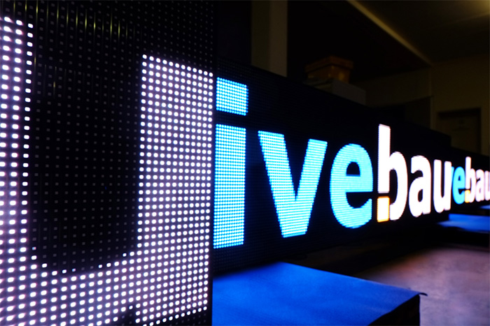 LED livebau | Media technology