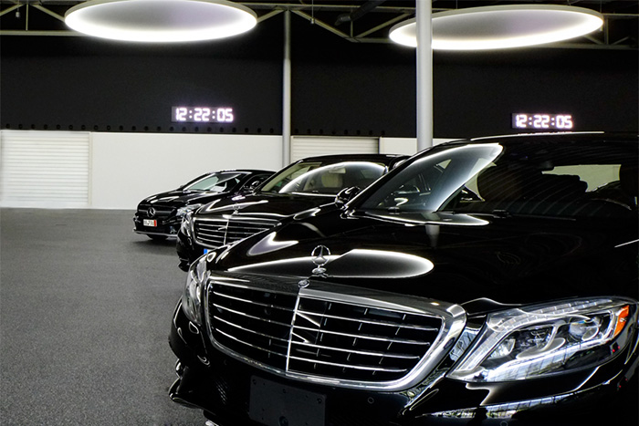 Project Mercedes LED timers | Media technology
